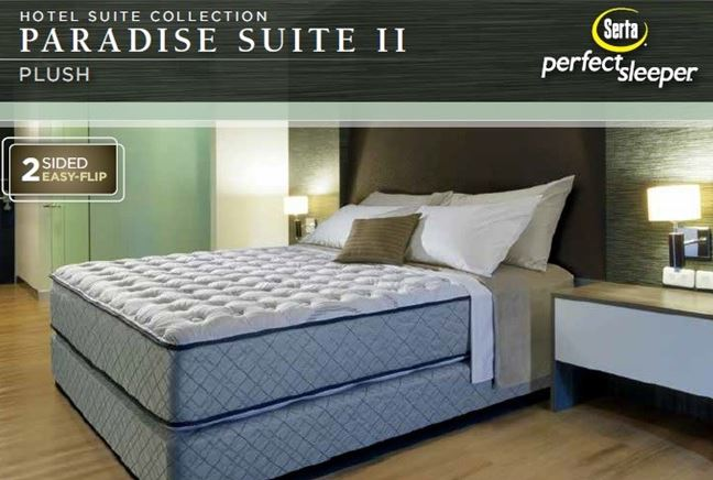 Paradise Suite Ii Plush Mattress Set