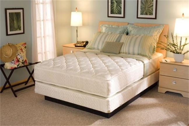 Serta Royal Suite Firm Hospitality Mattress Set